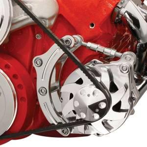 BILLET SPECIALTIES #FM0205PC BBC Alt Bracket SWP Low Mount Drivers Side
