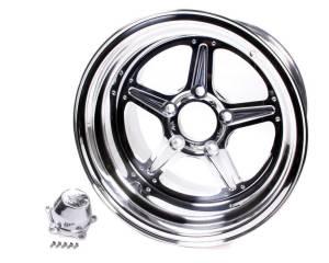 BILLET SPECIALTIES #RS035106535N Street Lite Wheel 15x10 3.5 BS 5x4.5 BC