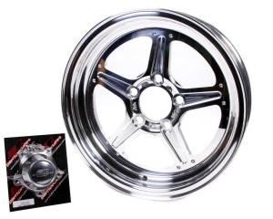 BILLET SPECIALTIES #RS035406516N Street Lite Wheel 15x4 1.625in BS 5x4.5 BC