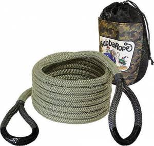 BUBBA ROPE #176655BKG Renegade Rope 3/4in X 20 ft