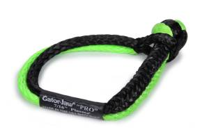 BUBBA ROPE #176745PROGB 7/16in Gator Jaw Soft Shackle Green/Black