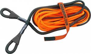 BUBBA ROPE #176756 3/8in x 50ft Synthetic Winch Line Extension