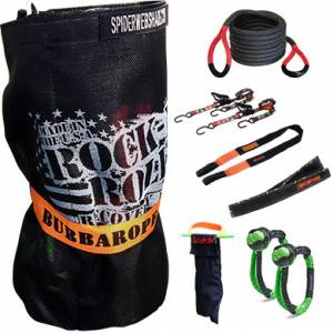 BUBBA ROPE #251628 Rock-N-Roll Recovery Kit w/Bubba Rope 30ft