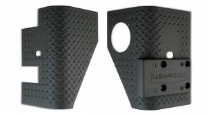 BUSHWACKER #14004 97-06 Jeep Trail Armor Rear Corner Pair
