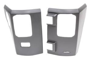 BUSHWACKER #14009 07-15 Jeep Trail Armor Rear Corner Pair