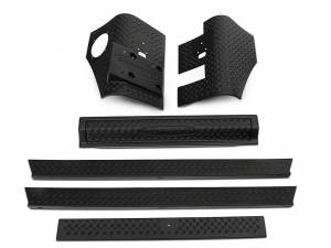 BUSHWACKER #14901 97-06 Jeep Trail Armor Six Piece Set
