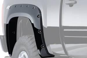 BUSHWACKER #20044-02 99-07 Ford Super Duty SB Cut Out Flares Rear