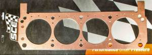 SCE GASKETS #P360650L SBF Copper Head Gasket LH 4.060 x .050