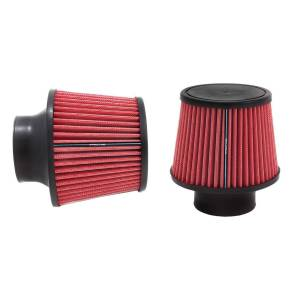 SPECTRE #SPE-9132 Conical Filter Cone Air Filter 3in Red