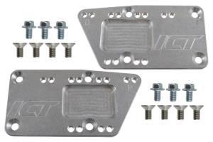 ICT BILLET #551628 SBC LS Conversion Motor Mount Adjustable Plate