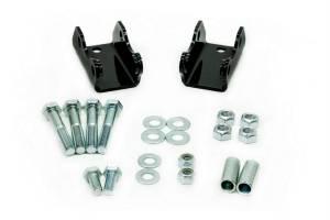 UMI PERFORMANCE #6411 73-87 GM C10 Shock Relocation Kit Rear