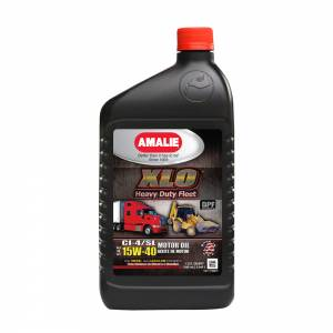 AMALIE #AMA71706-56 XLO Heavy Duty Fleet Eng ine Oil 15w40 Case 1 Qt.