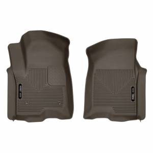 HUSKY LINERS #54100 GM X-Act Contour Floor Liners Front Cocoa