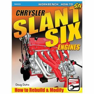 S-A BOOKS #SA429 How To Rebuild Chrysler Slant Six Engines