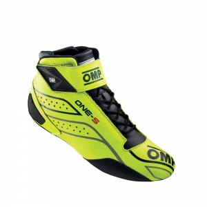 OMP RACING INC. #IC/82209943 ONE-S Shoes Yellow 43