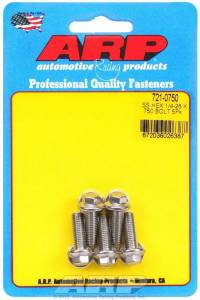 ARP #721-0750 Bolt Kit - SS 6pt 5pk 1/4-28 x .750