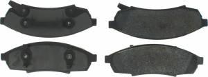 CENTRIC BRAKE PARTS #300.0376 Premium Semi-Metallic Brake Pads with Shims