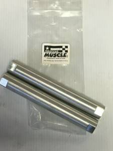 AMERICAN MUSCLE #34562A American Muscle Aluminum Tie Rod Adjusting Sleeves 11/16-18 A B&E Body