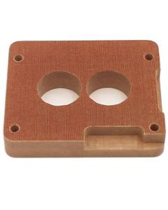 CANTON #85-040 Phenolic Adapter 1in Holley 2 bbl.