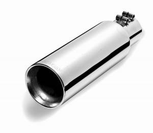 GIBSON EXHAUST #500427 Stainless Double Walled Angle Exhaust Tip