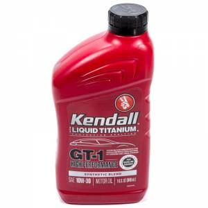 KENDALL OIL #D1081194 Kendall 10w30 GT-1 1Qt. Synthetic Blend