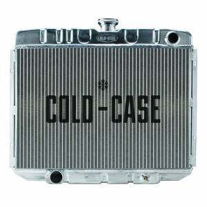 COLD CASE RADIATORS #FOM588 67-70 Mustang BB 24in Ra diator MT