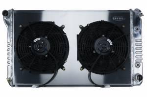 COLD CASE RADIATORS #GPF18AK 70-81 Firebird AT 12in Dual Fans