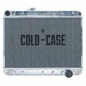 COLD CASE RADIATORS #GPG34 66-67 GTO Radiator w/o AC MT