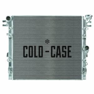 COLD CASE RADIATORS #MOJ995 07-17 Jeep Wrangler JK R adiator