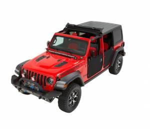 BESTOP #52454-17 Sunrider Hardtop 18-   Jeep Wrangler Black Twill