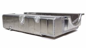 CHAMP PANS #PRO172L3A SBC Aluminum Oil Pan - Dry-Sump w/4-1/4 Depth