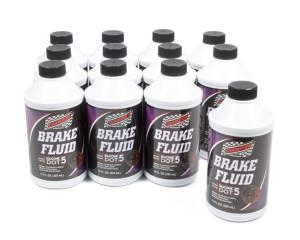 CHAMPION BRAND #4055K/12 Brake Fluid DOT 5 12x12 oz.