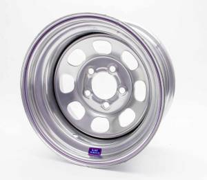 BART WHEELS #5335834-4 15x8 5-4x3/4 4in bs Silver Painted
