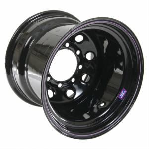 BART WHEELS #7015806 15x8 6x5.5 3.75in BS Blk Supertrucker Wheel
