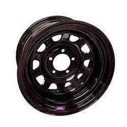 BART WHEELS #7015812 15x8 5x4.5 3.75in BS Blk Supertrucker Wheel