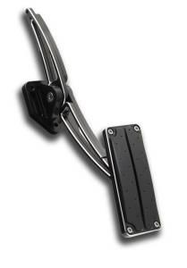 CLAYTON MACHINE WORKS #TA-206-B3 Throttle Pedal Assembly 67-72 GM A-Body Black