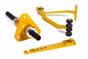 COLEMAN MACHINE #19831 Adj Gas Pedal Roller Bearing-Angled