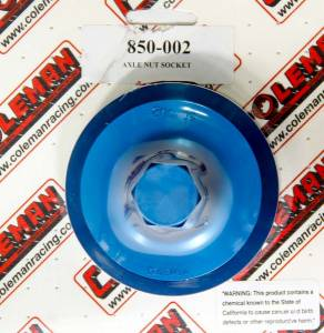 COLEMAN MACHINE #850-002 Spindle Nut Socket SCP/ GN TAB STYLE