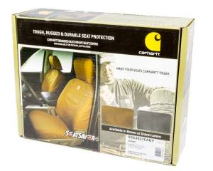 COVERCRAFT #SSC3437CAGY Carhartt Seat Saver Gray Front 14-16 GM Truck