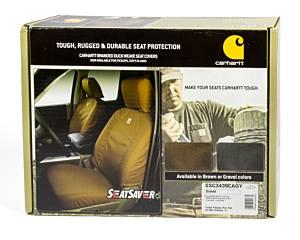 COVERCRAFT #SSC3439CAGY Carhartt Seat Saver Gray Front 14-16 GM Truck