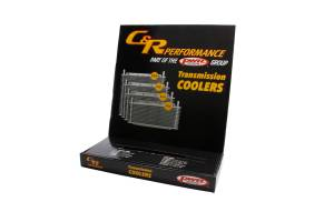 C AND R RACING RADIATORS #42-20001 POP Display Box Only Trans Cooler