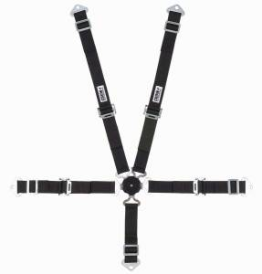 CROW ENTERPRIZES #11174A 5-Pt Harness 2in Cam Lock Blk Pull Up