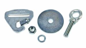 CROW ENTERPRIZES #11546 Eye Bolt Nut And Washer W/ Floor Mount Snap