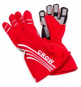 CROW ENTERPRIZES #11822 All Star Glove Red Large