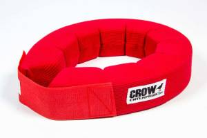 CROW ENTERPRIZES #20162 Neck Collar Knitted 360 Degree Red SFI 3.3