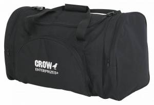 CROW ENTERPRIZES #20175 Gear Bag Black 26x12x14
