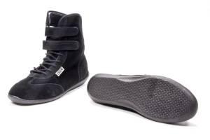 CROW ENTERPRIZES #21100BK Shoe High Top Black Size 10