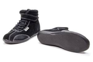 CROW ENTERPRIZES #22100BK Shoe Mid Top Black Size 10