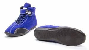 CROW ENTERPRIZES #22130BL Shoe Mid Top Blue Size 13