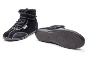 CROW ENTERPRIZES #22400BK Shoe Mid Top Black Size 4
